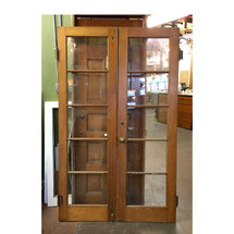 "D17045 - Pair of Antique French Doors 48"" x 78"""