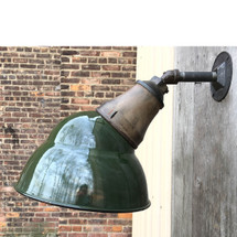 L17065 - Antique Industrial Wall Sconce