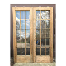 "D17048 - Pair of Antique Interior French Doors 60"" x 84"""