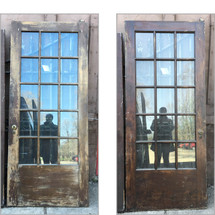 "D17049 - Single Antique Interior French Door 36"" x 84"""
