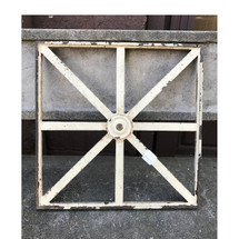 S17024 - Antique Cast Iron Window Insert
