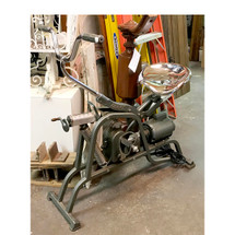 "A17025 - Vintage ""Electrocycle"" Exercise Bike with Motor"