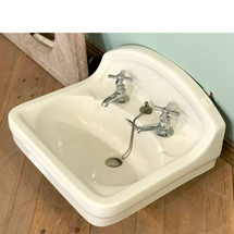 P17004 - Antique Wall Mount Bathroom Sink