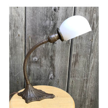 L17114 - Antique Art Deco Flexible Desk Lamp