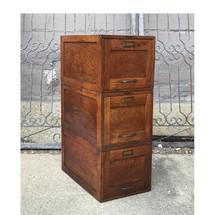 F17071 - Antique Stacking File Cabinet