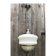L17152 - Antique Revival Period Two-Piece Commercial Hanging Fixture