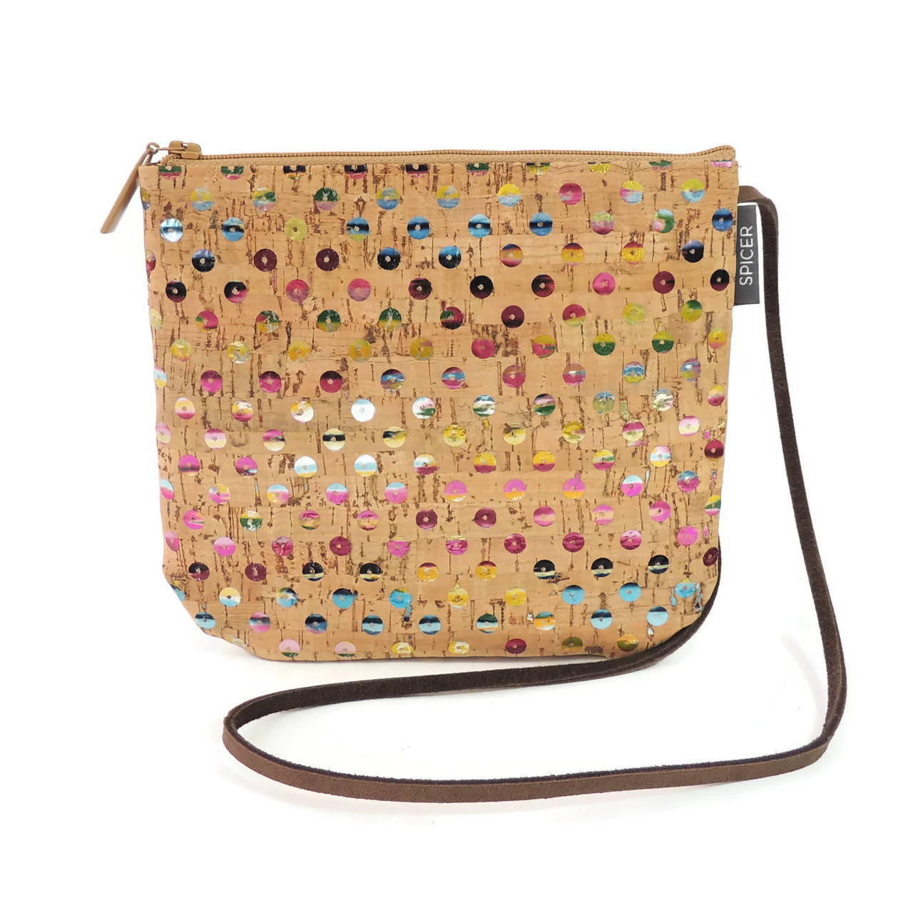 Sidekick in Sequin Cork