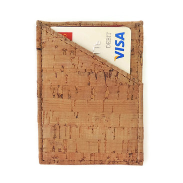 Card Case in Cork Dash