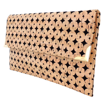 Folio in Black Cork Dots