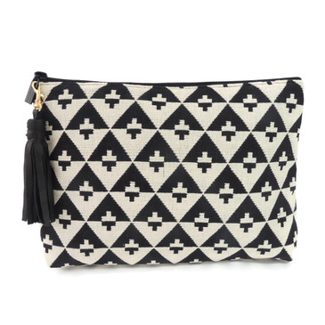Carryall Clutch in Hudson