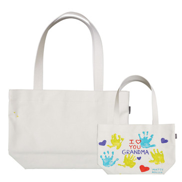 P.I.Y Primed Canvas Market Tote with Cotton Straps