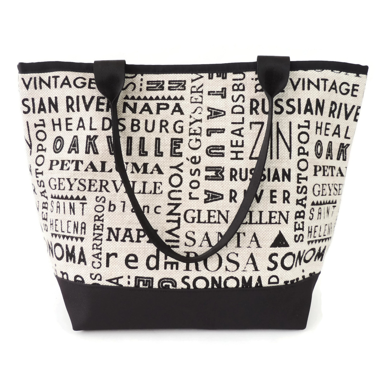 Signature Tote in Wine Country Linen