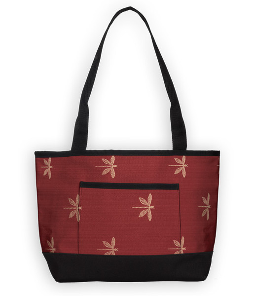 The Baby Tote Bag in Dragonfly Rose