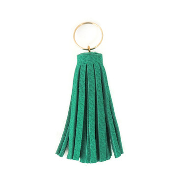 Green Mini Tassel