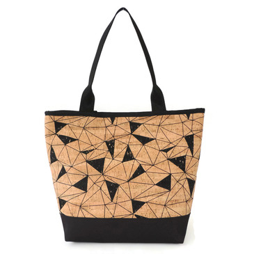 Signature Tote in Geo Cor