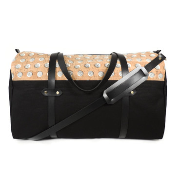 Duffle in Black Dandelion Cork