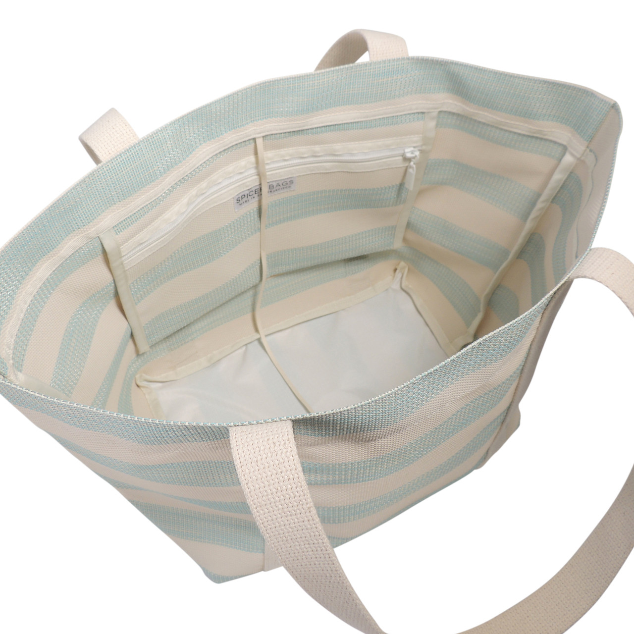 Beach Tote in Cabana Stripe