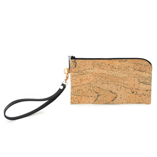 Phone Wristlet in Marble Cork