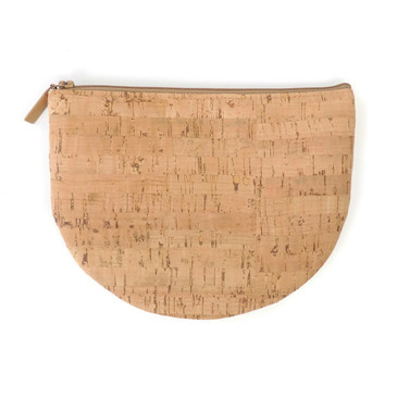 Half Moon Pouch in Cork Dash