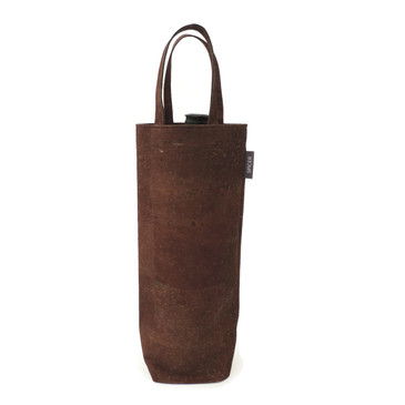 Wine Tote in Brown Cork