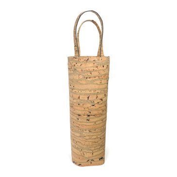 Wine Tote in Cork Lines