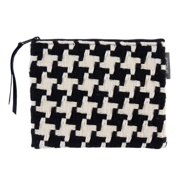 Fall Pouch in Wintersville Houndstooth