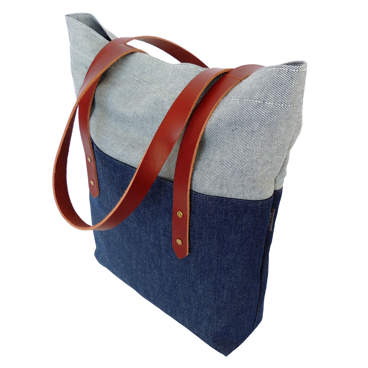 Big Boot Tote in Denim