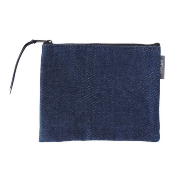 Pouch in Denim