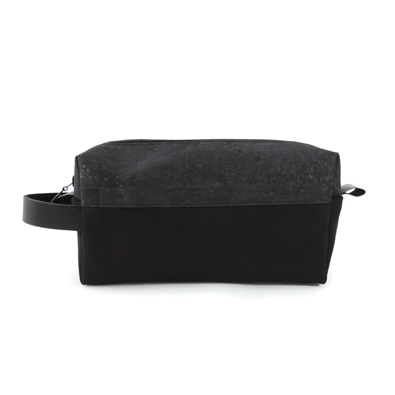 Dopp Kit in Black Cork