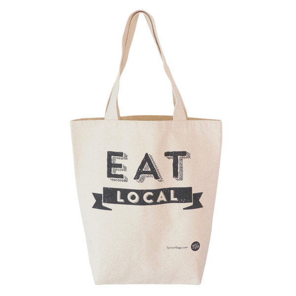 Eat Local Grocery Tote