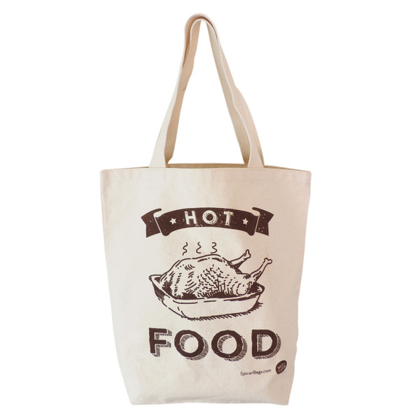 Hot Food Grocery Tote