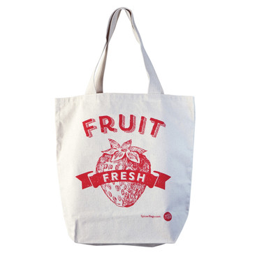 Fresh Fruit Grocery Tote