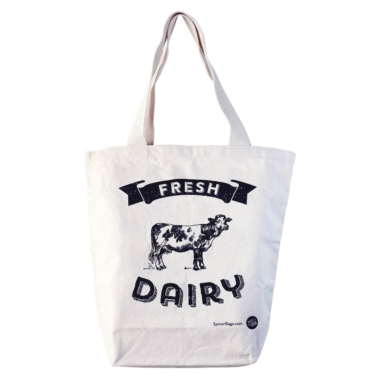 Fresh Dairy Grocery Tote
