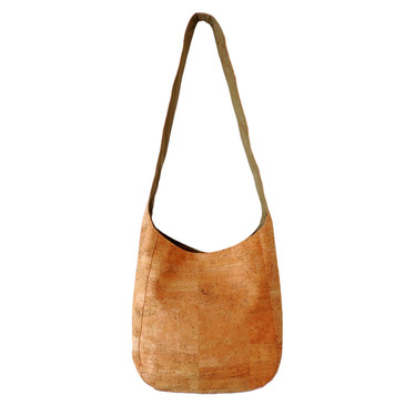 Sling Bag in Cork Squares