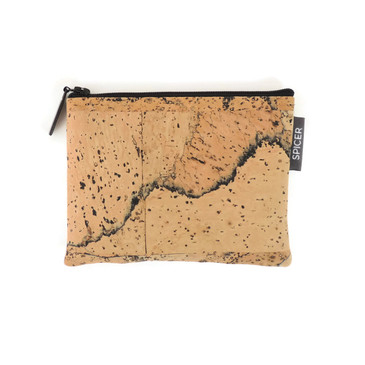 Mini Pouch in Marble Cork