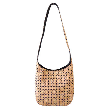 Sling in Black Cork Dots
