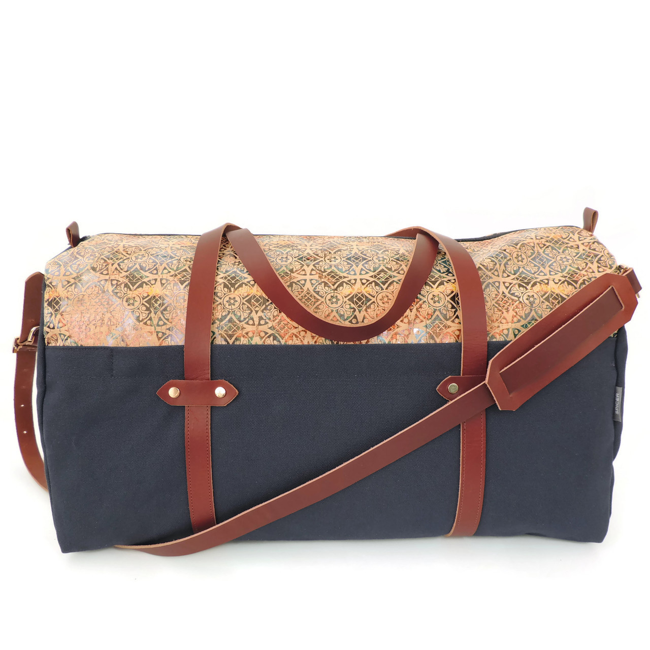 Duffle in Fes Tile Cork