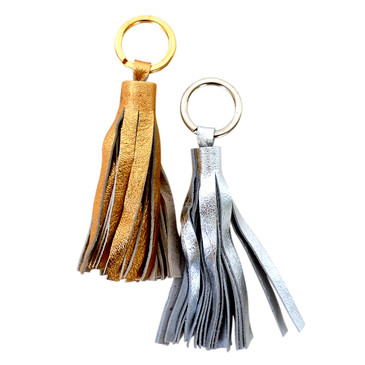 Gold and Silver Key Ring