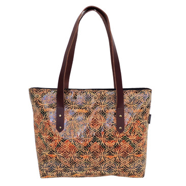 Boot Tote in Fes Tile Cork
