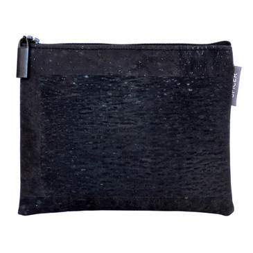 Pouch in Black Cork