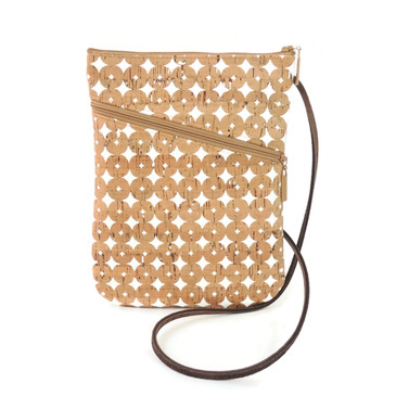 Social Bag in Cork Dots