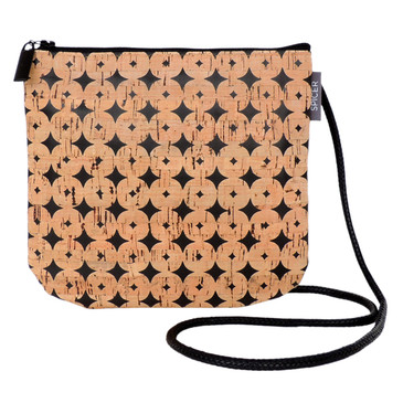 Sidekick in Black Cork Dots