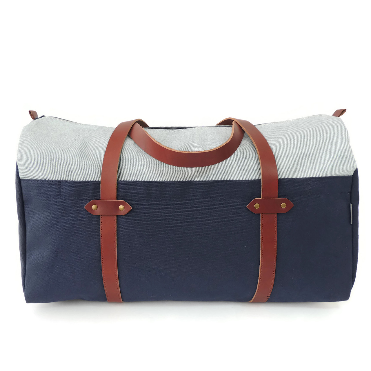 Duffle in Denim and Canvas