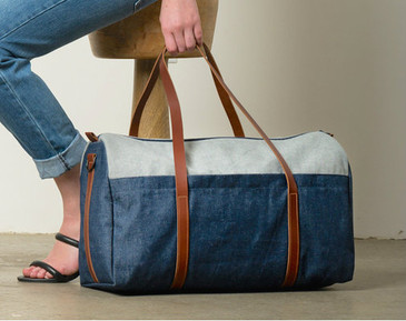Duffle in Denim