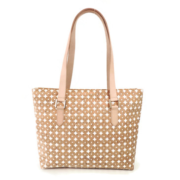 Boot Tote in Cork Dots
