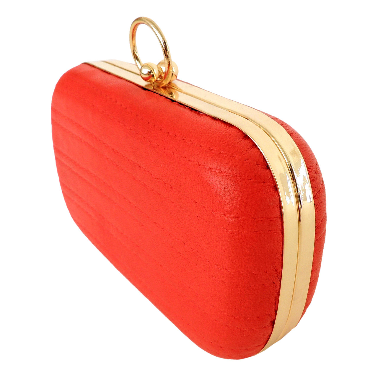 Evening Clutch in Rouge Red
