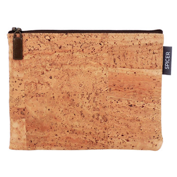 Pouch in Cork Squares