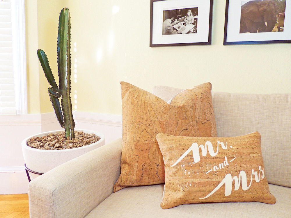 Cork pillows
