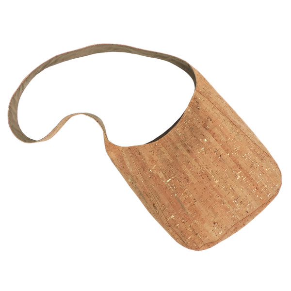 Sling Bag in Cork Dash Gold