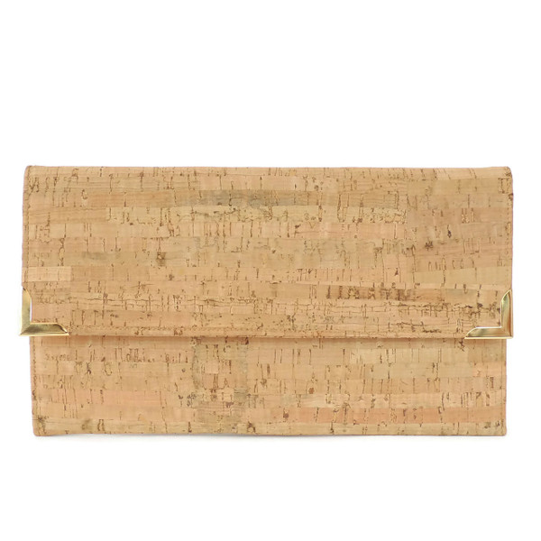 Folio Clutch in Cork Dash